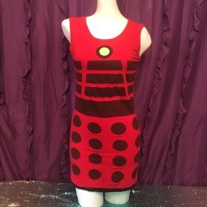 Dr Who Dalek Cosplay Her Universe Bodycon Dress